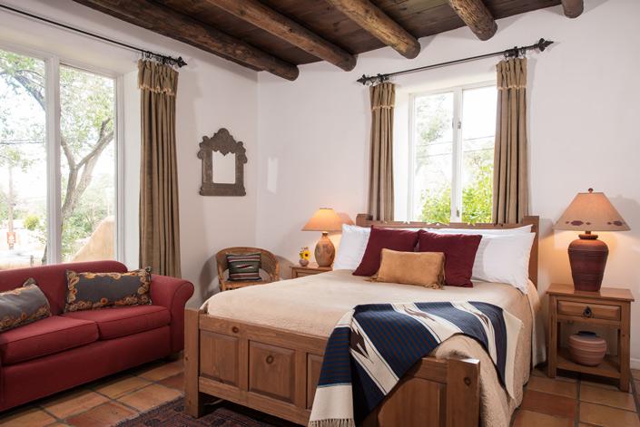Santa Fe B&B - Edna Millay Room