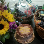 Fruit baskets and flowers