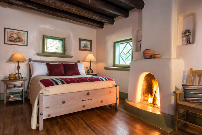 Bed and Breakfast in Santa Fe, NM - O. Henry Room