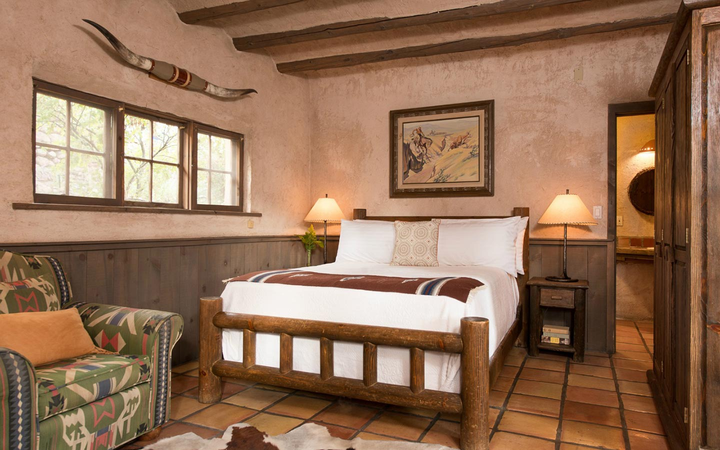 Santa Fe Accommodations - Spud Johnson Room