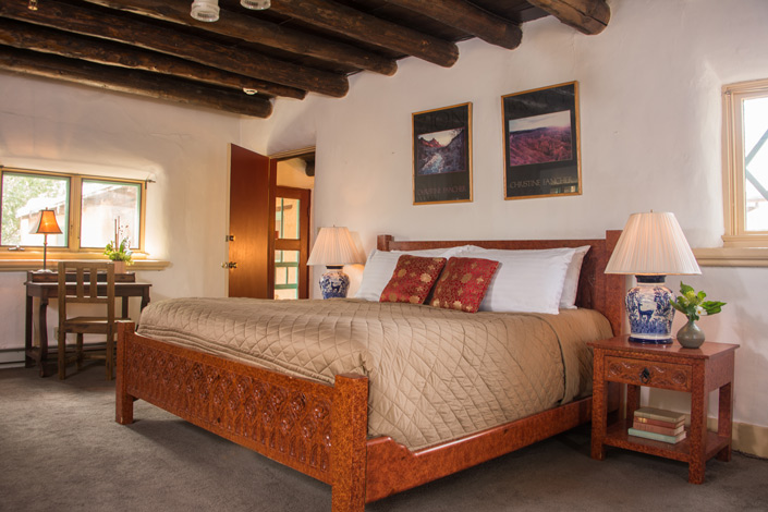 Santa Fe, New Mexico Bed and Breakfast - Witter Bynner Room