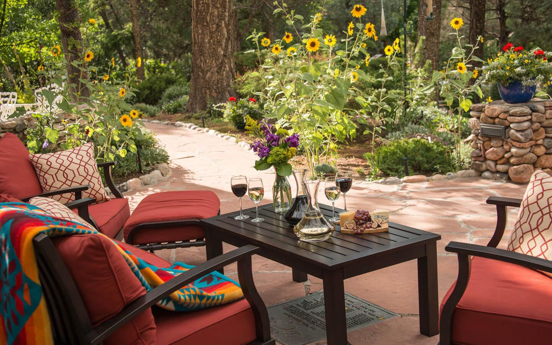 Santa Fe, New Mexico Gardens