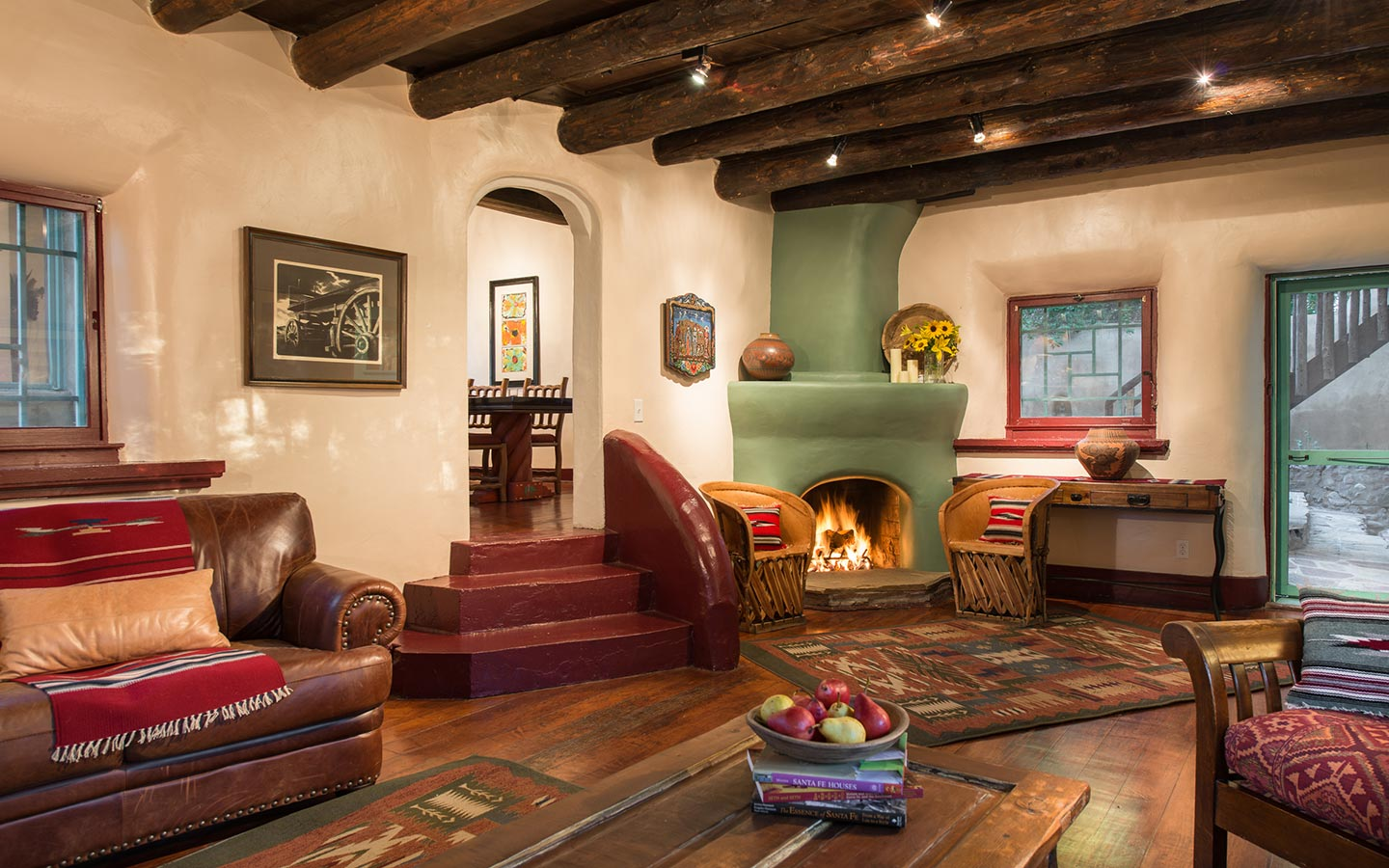 Santa Fe Bed and Breakfast Sitting Room