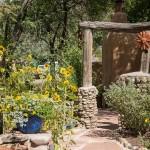 Lush Santa Fe gardens