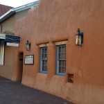 Rio Chama Restaurant entrance in Santa Fe