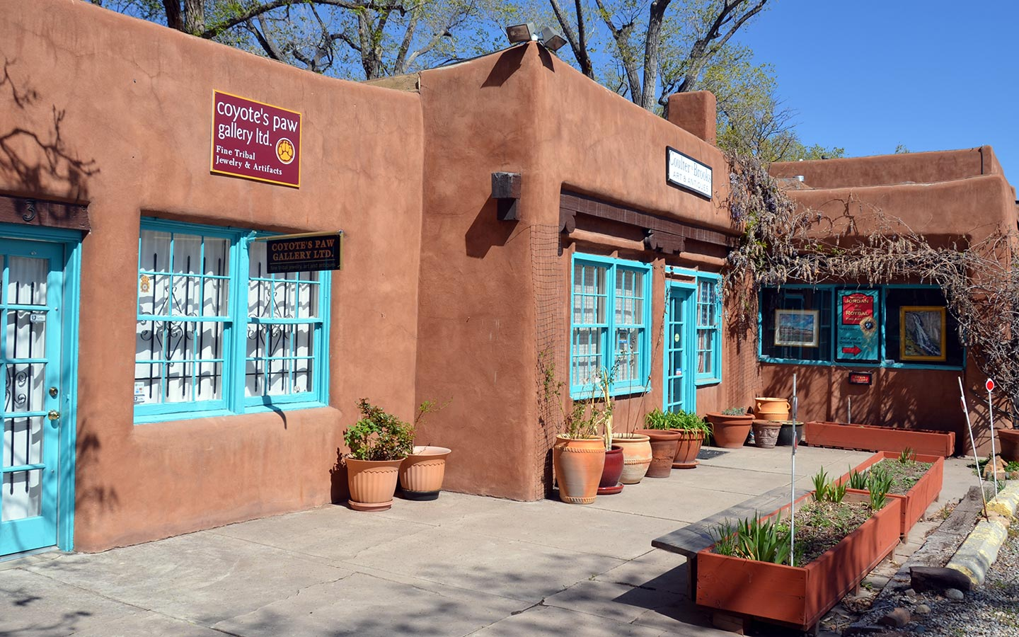 The Art Galleries of Santa Fe
