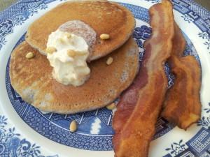 blue corn pancake recipe