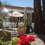 Patio at SantaCafe Restaurant
