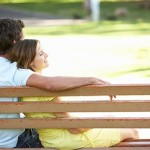 Couple on a Bench - Honeymoon in NM