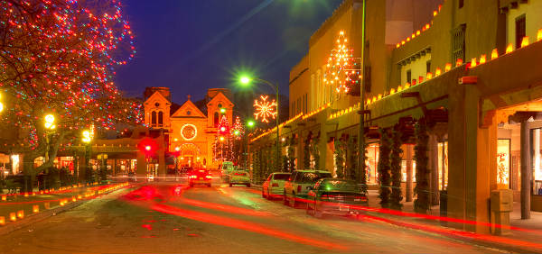 Spend The Holidays In Santa Fe New Mexico Winter Getaway