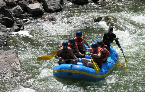 White water river rafting adventure in New Mexico