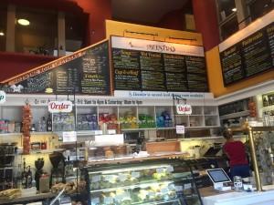 Beestro counter - a top lunch spot in Santa Fe