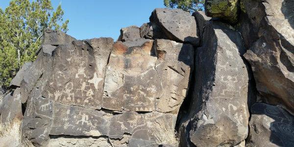 La Cieneguilla Petroglyphs, Santa Fe
