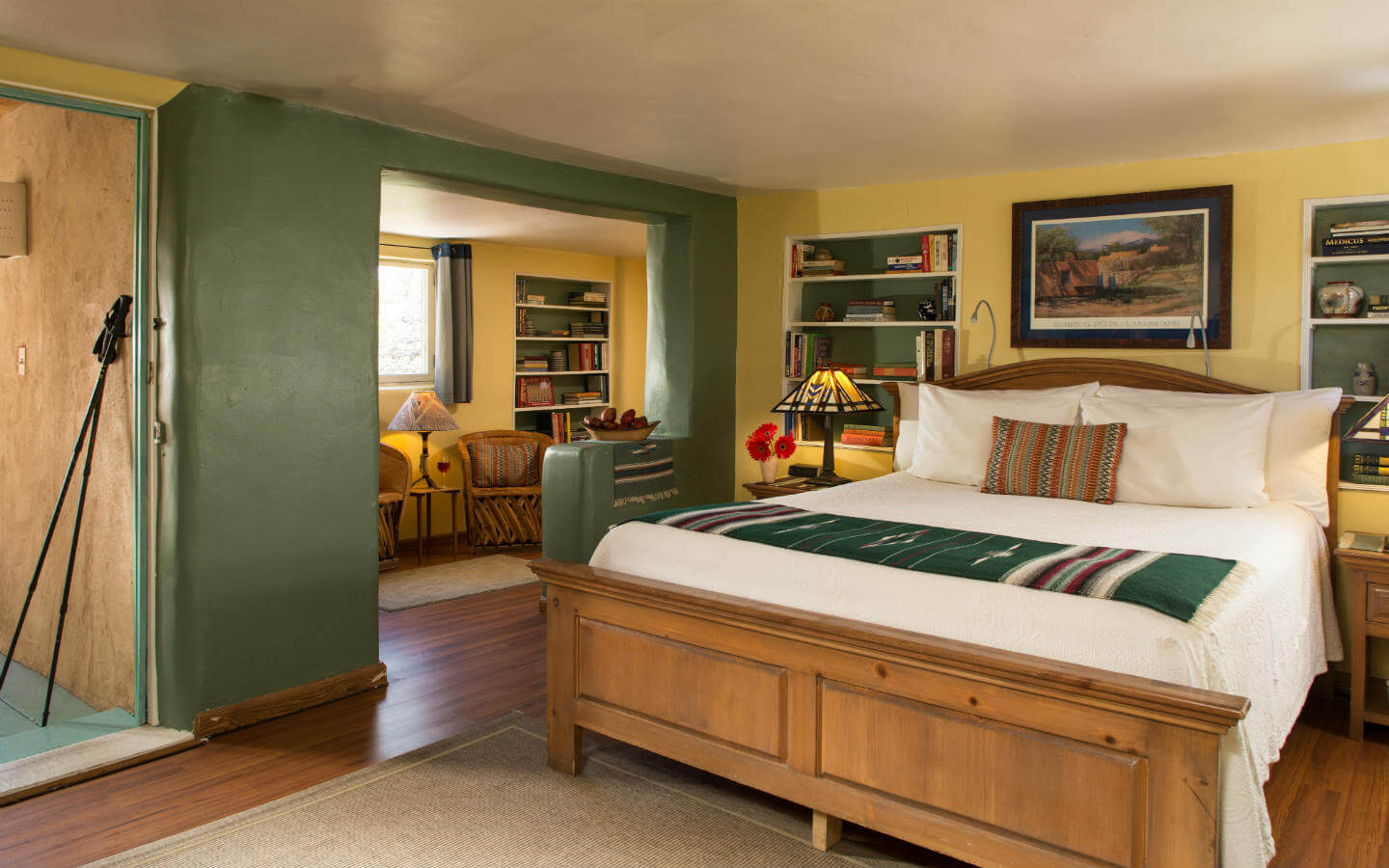 Bed and Breakfast in Santa Fe - D.H. Lawrence Room