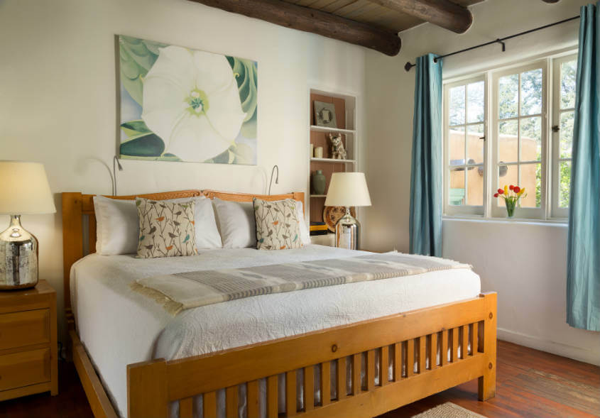 Stay at Inn of the Turquoise Bear for your Santa Fe Girls' Trip