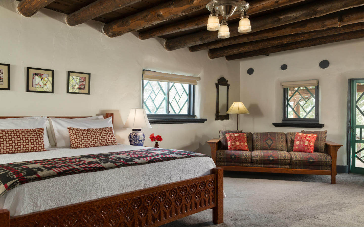 Santa Fe New Mexico Bed and Breakfast - Witter Bynner Room