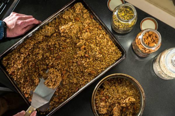 Easy Homemade Granola Recipe from Top Sante Fe Inn
