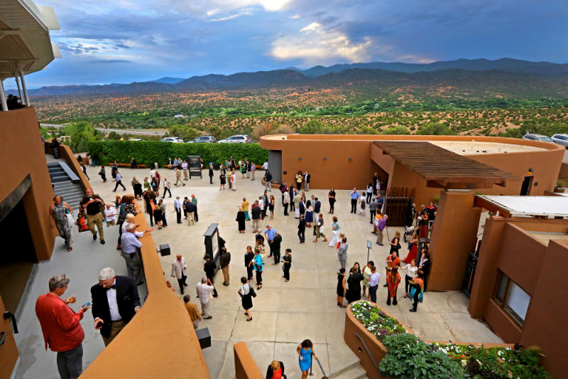 Panoramic Views at the Santa Fe Opera