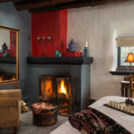 Your Romantic Room to Come Home to after all the Santa Fe Christmas Events