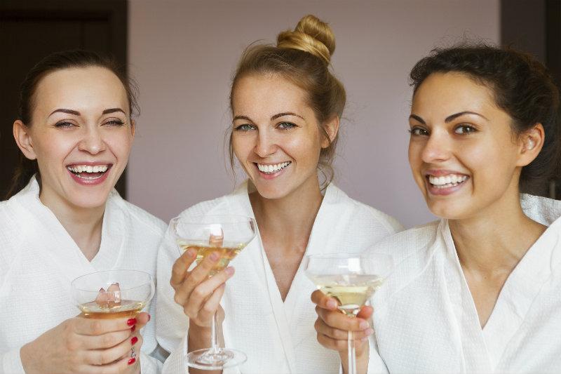 Santa Fe girls' trip spa day