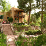 Acres of gardens at Inn of the Turquoise Bear