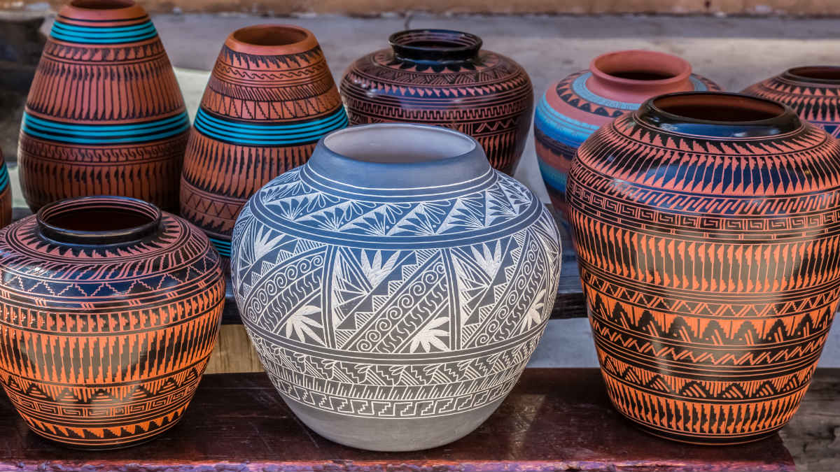 Santa Fe Events at Pueblos - Pottery in NM