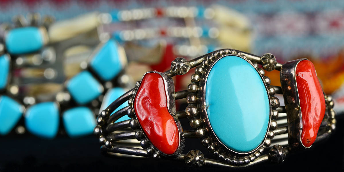 Kewa Pueblo - Beautiful Turquoise Jewelry