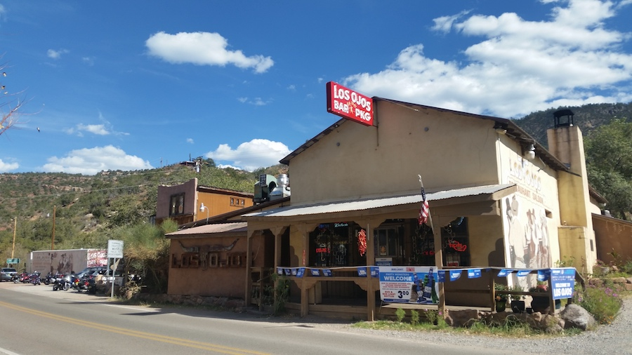 Local Bar on the Jemez Mountain Trail National Scenic Byway