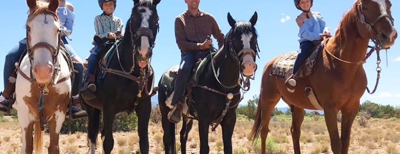 Horseback Riding Outdoor Adventure in Santa Fe