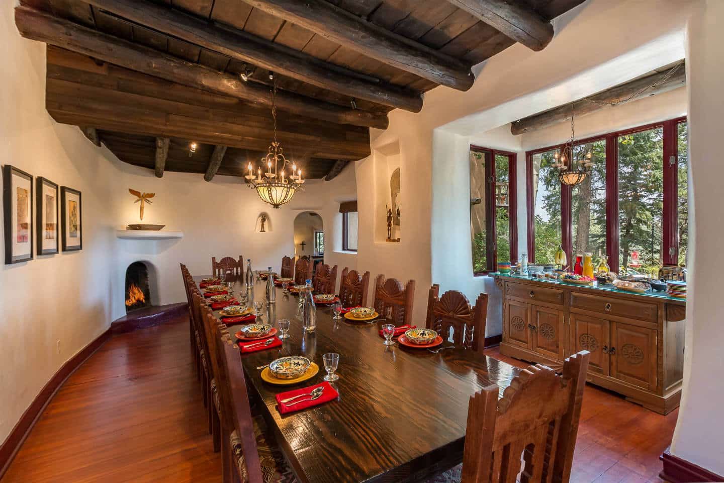 Santa Fe B&B Dining Room