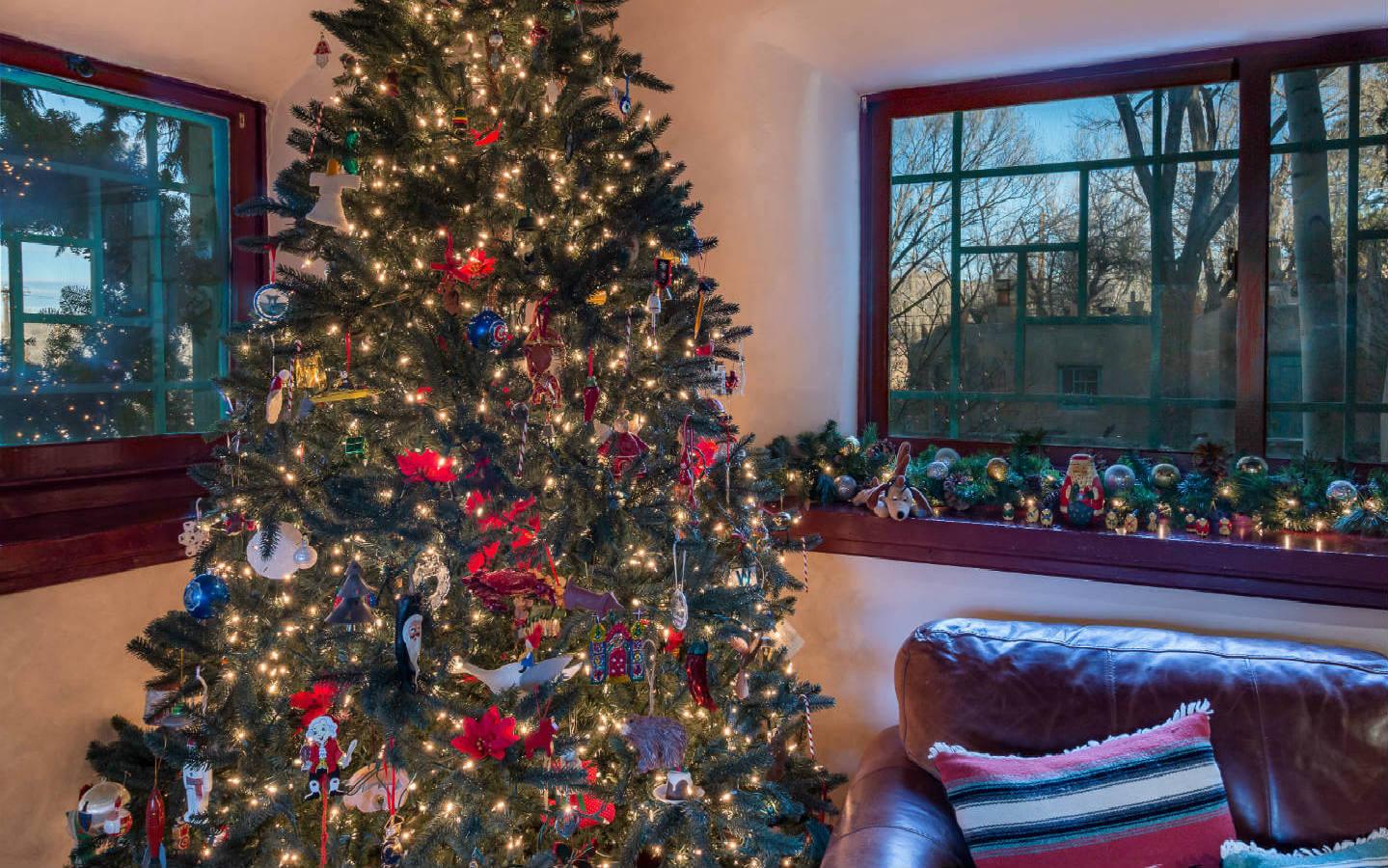 Christmas Tree in Inn's living room