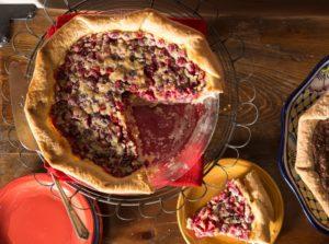 Cranberry Chess Pie