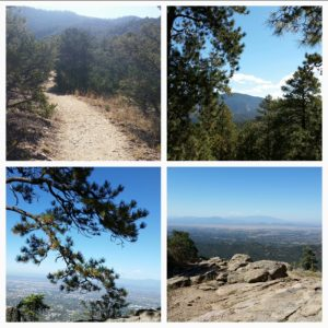 Scenes from Atalaya Hiking Trail
