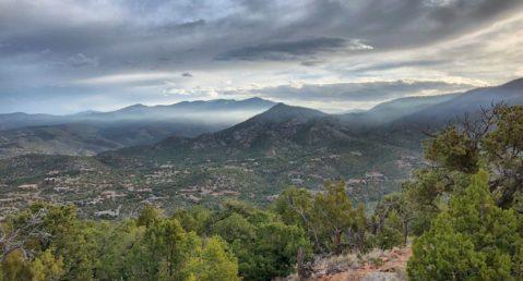Views from Sun Mountain Hiking Trail