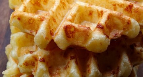 Green Chile Waffles